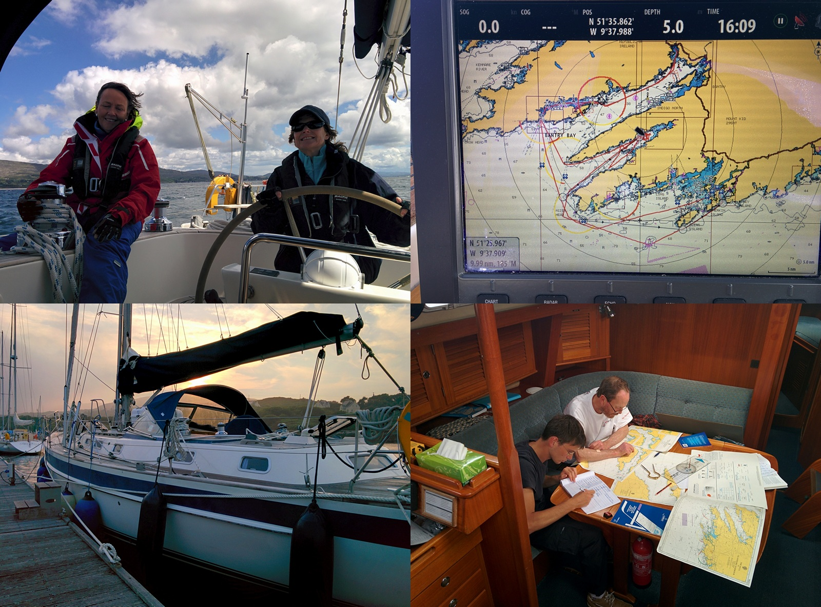RYA Day Skipper Practical - West Cork - Ireland